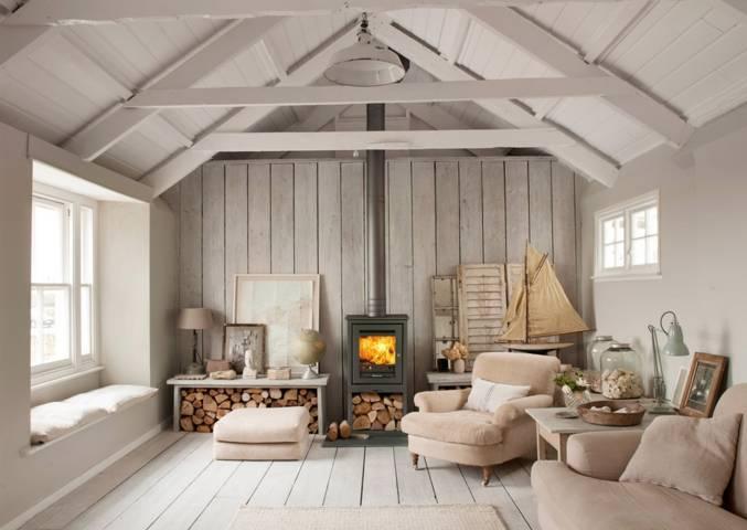 Beautiful un termocamino a legna pu essere una soluzione - Quanto costa un architetto per ristrutturare casa ...