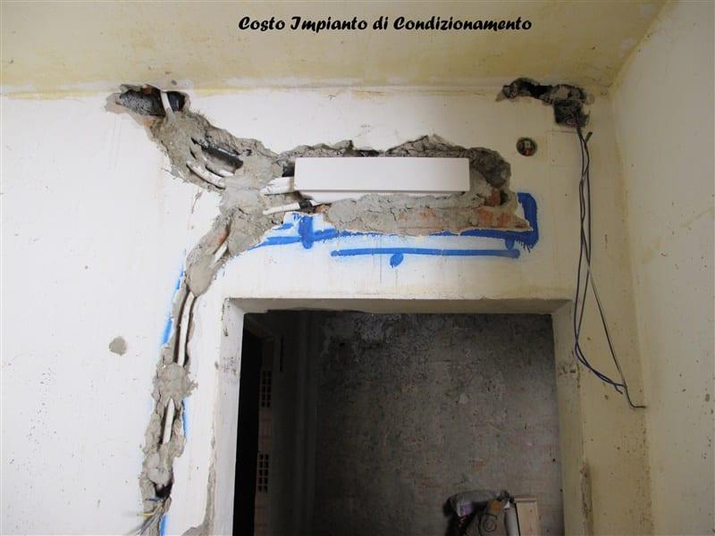 Costo tracce per impianto elettrico - Tracce su muri portanti ...