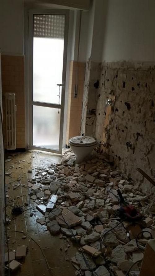 Ricostruzione Bagno Dopo Demolizione - DAMIANO MASTRAPASQUA - Edilnet.it