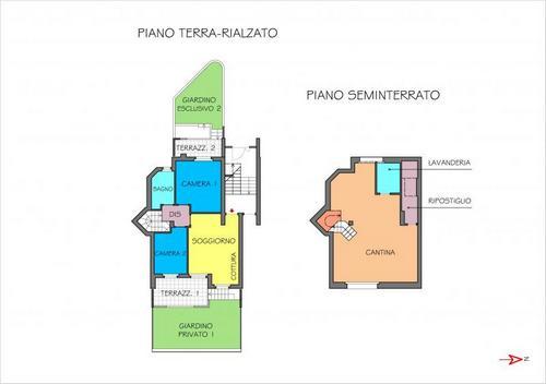 Vendo direttamente ultimo appartamento su due livelli for Seminterrato su due livelli