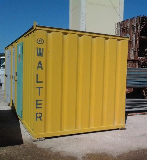 Cabina elettrica di trasformazione containerizzata we for Noleggio cabina di steamboat