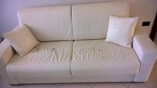 Rifoderare un divano letto a due posti - Rifoderare divano ...