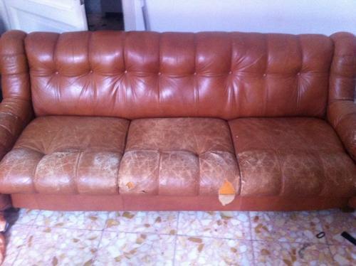 Rifoderare e rivestire un divano a tre posti for Rivestire divano pelle