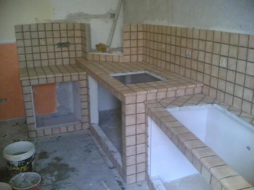 Bagno completo - Lavandino bagno in muratura ...
