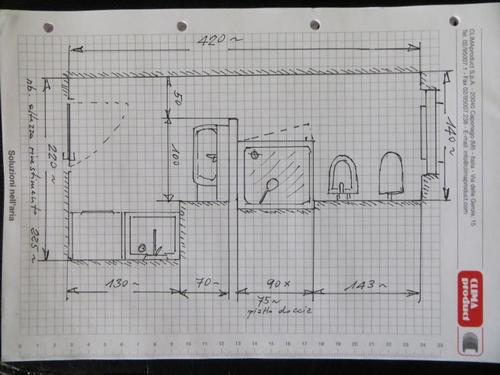 Ristrutturare un bagno di medie dimensioni - Progetto bagno paderno ...