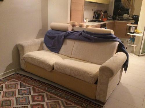Rifoderare un divano letto a tre posti a pesaro - Rifoderare divano ...