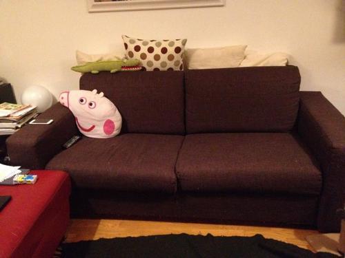Rivestire divano tre posti completamente sfoderabile due - Cuscini schienale divano ...