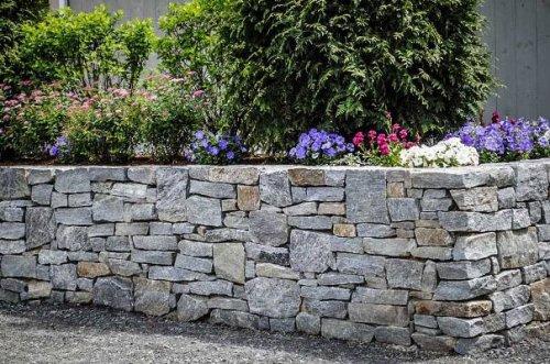 Preventivo Muro Cemento Armato.Muri In Pietra Quali I Prezzi Edilnet It